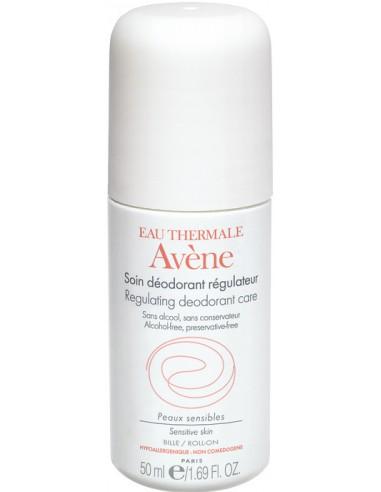 AVENE Soin Deodorant Regulateur Roll-On 50ml