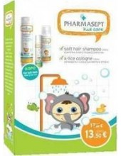 PHARMASEPT Kid Care Boy Set with Soft Hair Shampoo 300ml + X-Lice Cologne 100ml + FREE Soft Bath 40ml