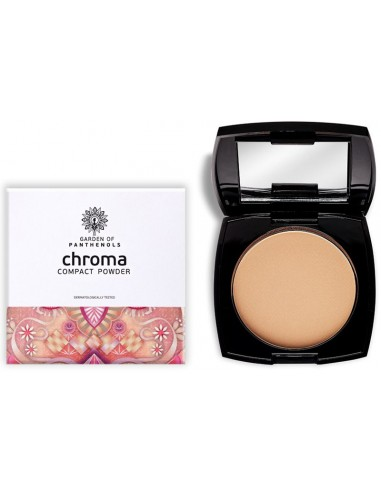 GARDEN OF PANTHENOLS Chroma Compact Powder PM-18 Caramel Tan 12gr