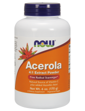 NOW Acerola 4:1 Extract Powder 170g