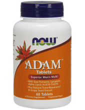 NOW Adam Superior Men's Multi 60 Tabs