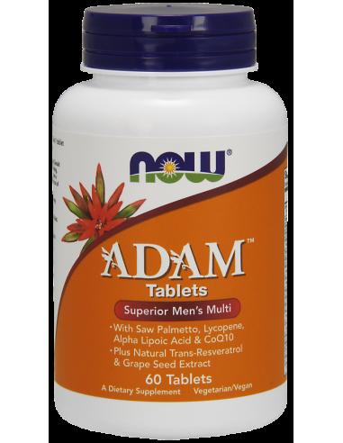 NOW Adam Superior Men's Multi 60 Tabs