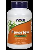 NOW Feverfew 400 mg (0,8% Parthenolide) 100 Caps