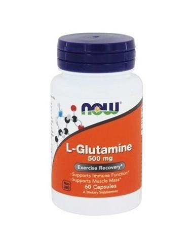 NOW L-Glutamine 500mg 60 Caps
