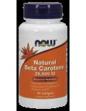 NOW Natural Beta Carotene 25.000 IU 90 Softgels