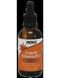 NOW Vitamin D-3 Liquid 400 IU per 4 drops - 60ml
