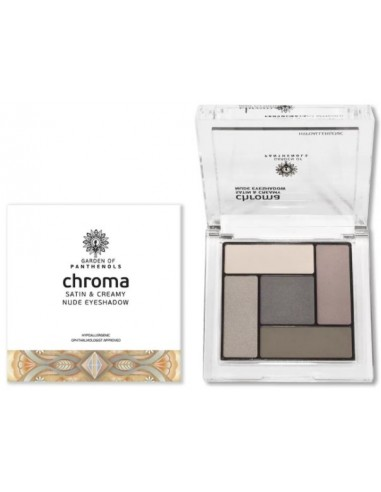 GARDEN OF PANTHENOLS Chroma Satin and Creamy Nude Eyeshadow No1