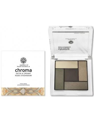 GARDEN OF PANTHENOLS Chroma Satin and Creamy Nude Eyeshadow No3