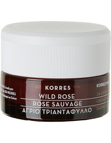 KORRES Wild Rose 24h Moisturising & Brightening Cream 40 ml