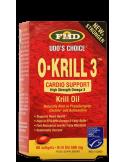 FMD (FLORA) O-KRILL 3 60 softgels