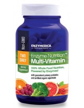 ENZYMEDICA Two Daily Multi Vitamin 60 Tabs
