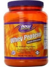 NOW SPORTS Whey Protein Dutch Chocolate 907g