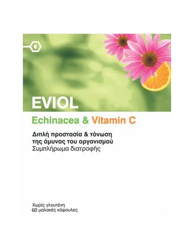 EVIOL Echinacea & Vitamin C 60 soft caps