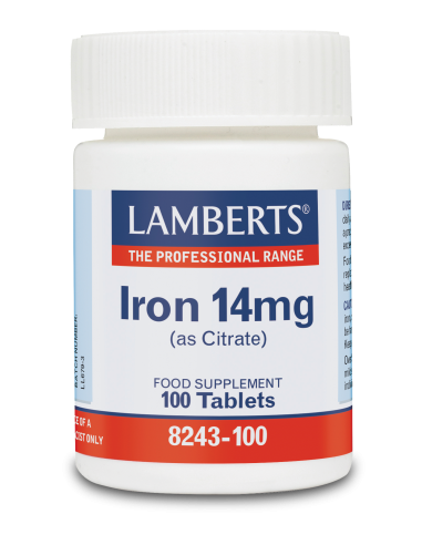 LAMBERTS Iron 14mg (as Citrate) 100 ...