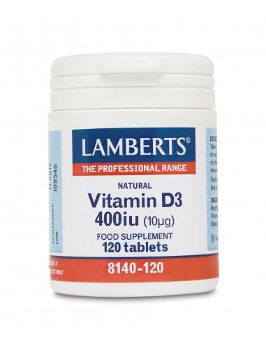 LAMBERTS Vitamin D 400iu 120 Tabs