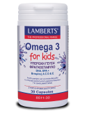 LAMBERTS Omega 3 for Kids (Berry Bursts) 30 Caps