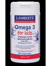 LAMBERTS Omega 3 for Kids (Berry Bursts) 30 Caps