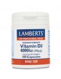 LAMBERTS Vitamin D3 4000iu 120 caps
