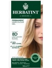 HERBATINT 8D Ξανθό Ανοικτό Χρυσαφί 150ml