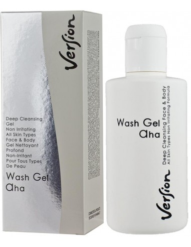 VERSION Wash - Gel AHA Deep Cleansing Gel / All Types of Skin 200ml