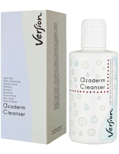 VERSION Azaderm Cleanser Light Gel Daily Cleansing 200ml