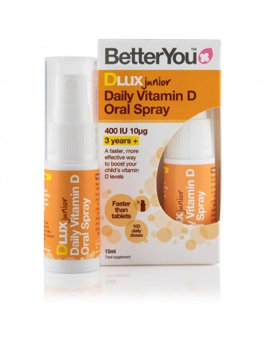 BETTER YOU DLuxJunior 400iu 15ml