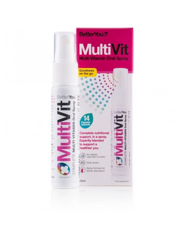 BETTER YOU MultiVit Spray 25ml