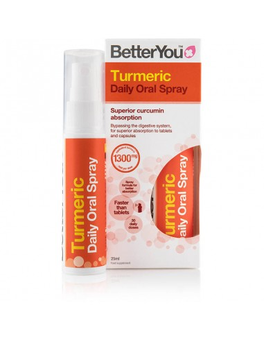 BETTER YOU Turmeric Oral Spray 25ml