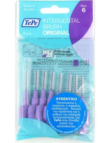 TEPE Interdental Brush Original 1.1 mm 8 pcs