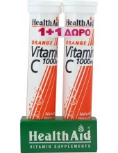 HEALTH AID Vitamin C 1000mg Orange 2x20 tabs