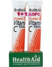 HEALTH AID Vitamin C 1000mg Orange 2x20 tabs