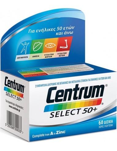CENTRUM Select 50+ 60 Tabs