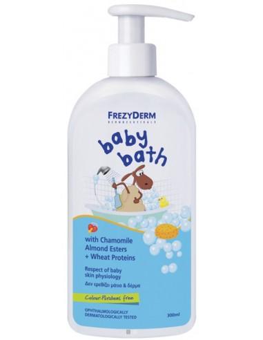 FREZYDERM Baby Bath 300ml (200ml+100ml Free)