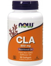 NOW CLA (Conjugated Linoleic Acid) 800 mg 90 Softgels