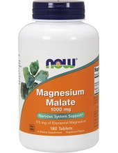 NOW Magnesium Malate 1000mg 180 Tabs