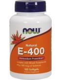 NOW Vitamin E-400 IU 100 Softgels