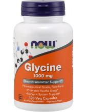 NOW Glycine 1000 mg Veg 100 Veg Caps