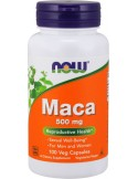 NOW Maca 500 mg Veg 100 Veg Caps