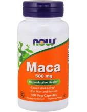 NOW Maca 500 mg Veg 100 Veg Caps
