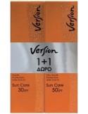 VERSION Sun Care SPF 50+ Anti-Wrinkle Face Cream 50ml & Sun Care SPF 30+ Anti-Wrinkle Face Cream 50ml FREE