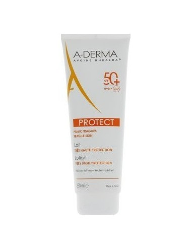 A-DERMA PROTECT Lait Tres Haute Protection SPF50+ 250ml