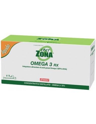 ENERVIT EnerZona Omega 3 RX Liquid 167ml, 5 vials of 33,3ml