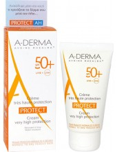 A-DERMA PROTECT Creme Tres Haute Protection SPF50+ 40ml