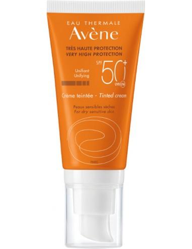 AVENE Tres Haute Protection Creme Teintee SPF 50+ 50ml (New 2018)