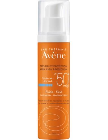 AVENE Tres Haute Protection Fluide Sans Parfum SPF 50+ 50ml