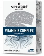 SUPERFOODS Σύμπλεγμα Βιταμίνης Β - Vitamin B Complex 30 Caps