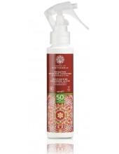 GARDEN OF PANTHENOLS Moisturizing Sunscreen Lotion 50Spf, Travel Size, 100ml