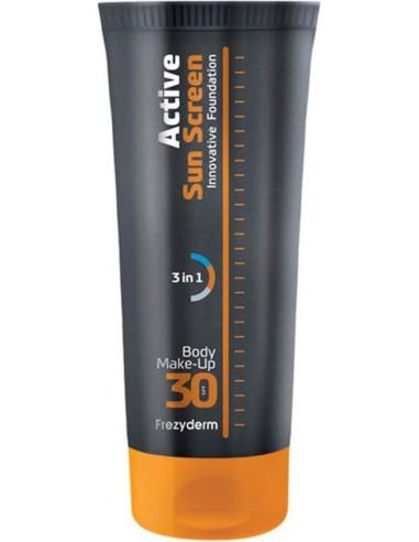 FREZYDERM Active SunScreen Body Foundation SPF 30 75ml