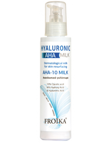 FROIKA Hyaluronic AHA-10 Milk 125ml