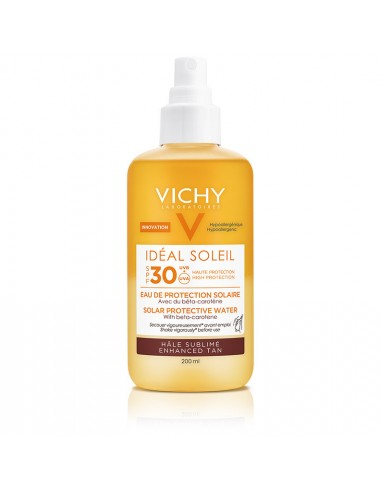 VICHY Ideal Soleil Solar Protective Water Enhanced Tan SPF30 200ml